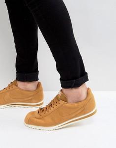 Светло-коричневые кроссовки Nike Classic Cortez SE 902801-700 - Рыжий