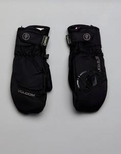 Зимние перчатки Volcom - Черный