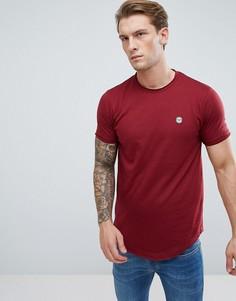 Длинная футболка с необработанным краем Le Breve - Красный