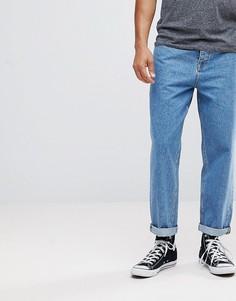 Синие расклешенные джинсы ASOS - Синий