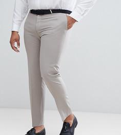 Зауженные брюки в стиле смокинга Noose & Monkey PLUS - Фиолетовый