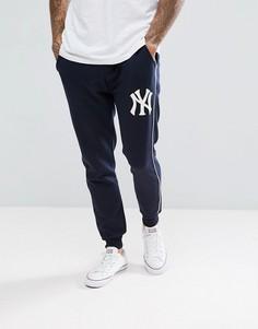 Темно-синие джоггеры Majestic New York Yankees - Темно-синий