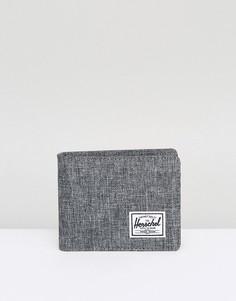 Складывающийся вдвое бумажник с RFID Herschel Supply Co Roy - Серый