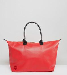 Красная сумка из искусственной кожи Mi-Pac - Красный