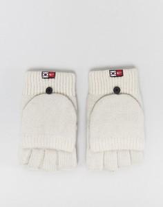 Серые варежки-перчатки The North Face - Серый