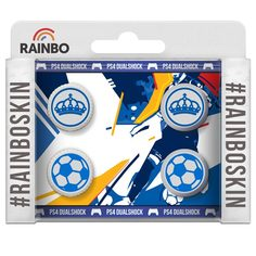 Акcессуар для геймпада PS4 Rainbo Накладки на стики для DualShock4 Реал