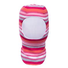 Шапка-шлем для девочки Barkito малиновый