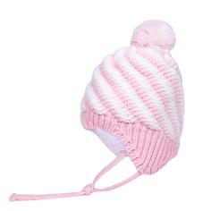 Шапка-ушанка для девочки Barkito светло-розовый