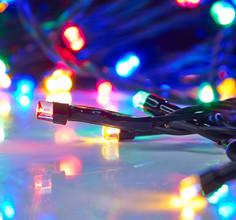 Гирлянда Luazon Метраж 10m LED-100-24В Multicolor 1585999