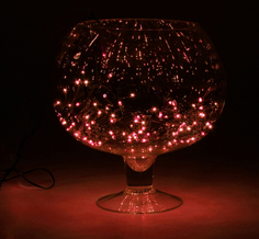 Гирлянда Luazon Метраж 7m LED-180-220V Red 671007