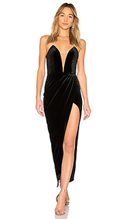 Бархатное вечернее платье jake - Michael Costello