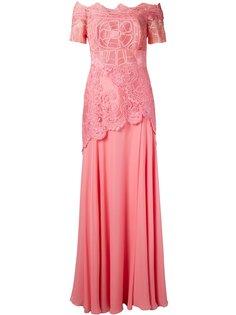 кружевное платье с открытыми плечами Patricia Martha Medeiros