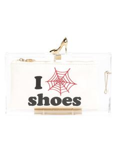 клатч Pandora Loves Shoes Charlotte Olympia