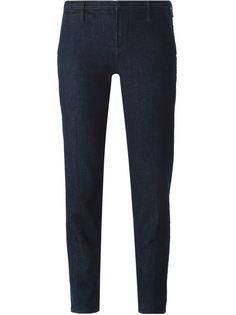 укороченные джинсы прямого кроя  J Brand