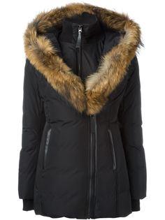 дутая куртка Adalif с меховой отделкой Mackage
