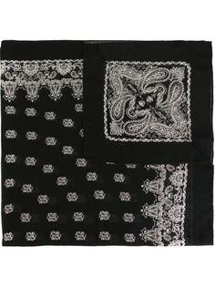 платок с принтом пейсли Saint Laurent