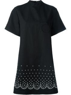 платье с люверсами  Alexander Wang