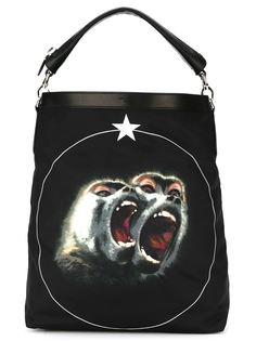 сумка на плечо с принтом бабуина Givenchy
