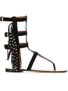 сандалии-гладиаторы Rockstud  Valentino