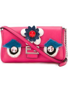 микро сумка через плечо Fashion Show Baguette  Fendi
