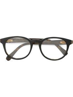 оптические очки в круглой оправе Brioni