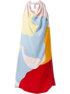 платье с принтом Nina Ricci