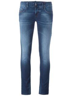 джинсы кроя скинни Groupeene Diesel