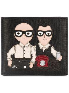 бумажник с нашивками в виде дизайнеров Dolce & Gabbana