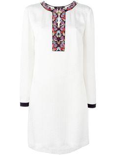 платье с вышивкой на горловине Etro