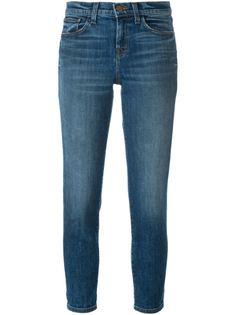 выбеленные джинсы  J Brand