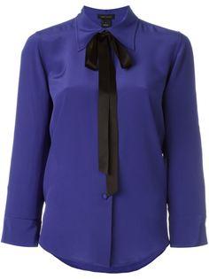 блузка с бантом  Marc Jacobs