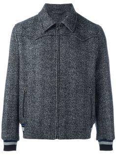 куртка-бомбер с классическим воротником Lanvin