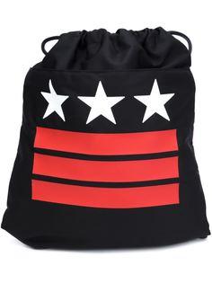 рюкзак с принтом звезд и полосок Givenchy