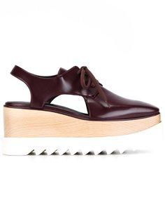 туфли Elyse с вырезными деталями Stella McCartney