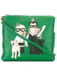 клатч с нашивкой Dolce & Gabbana