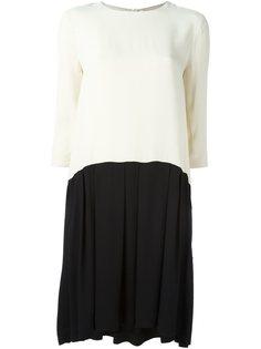 платье Hannah в стиле колор-блок  Erika Cavallini