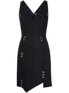 платье c V-образным вырезом  Mugler