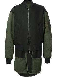 многослойная куртка-бомбер Juun.J