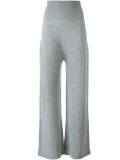широкие прямые брюки Agnona