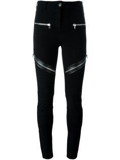брюки с декоративными молниями Givenchy