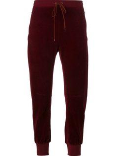 бархатные брюки Chloé