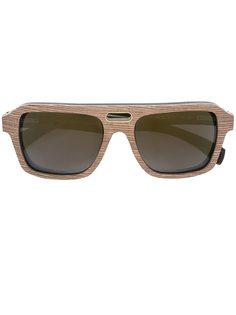 солнцезащитные очки Ashbury Gold And Wood