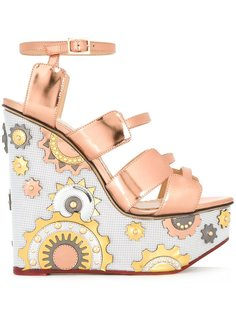босоножки Mechanical Merylin  Charlotte Olympia