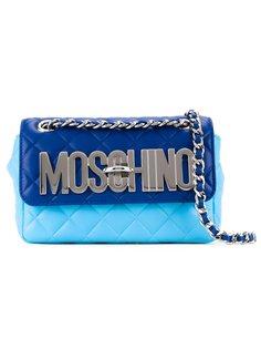 стеганая сумка через плечо  Moschino