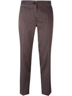 жаккардовые брюки Etro
