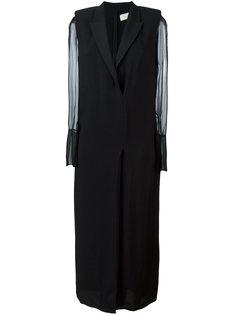 двубортное платье  Lanvin