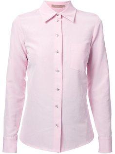 рубашка с блестящими пуговицами Michael Kors