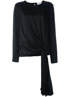 блузка с присборенным передом Lanvin