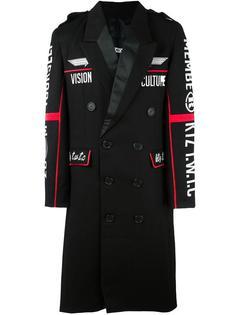 пальто с вышивкой  KTZ