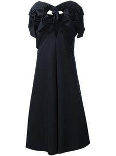 структурированное платье-шифт Junya Watanabe Comme Des Garçons